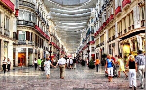 Calle Larios, Malaga