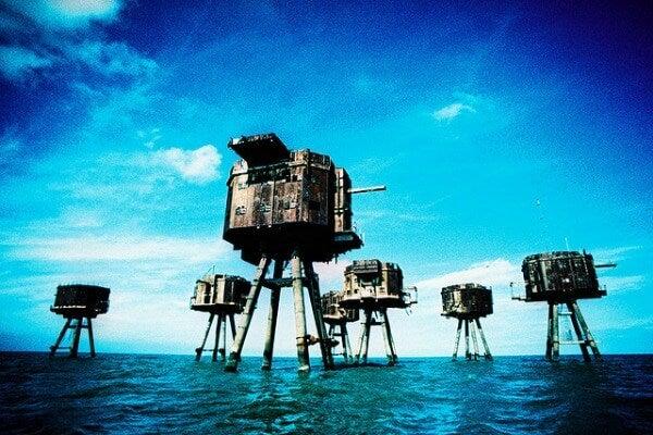 Maunsell Sea Forts, Reino Unido