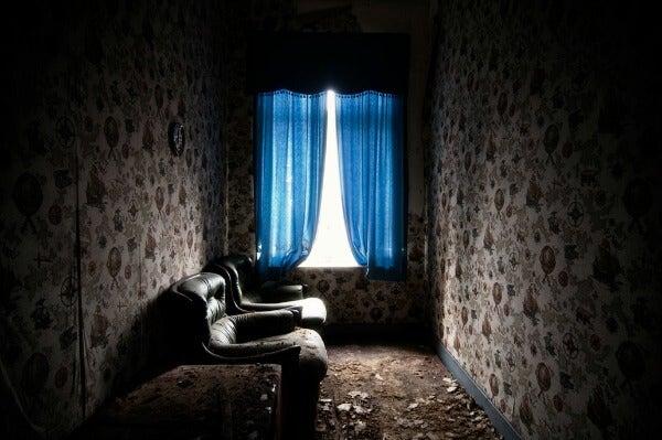 Salon abandonado