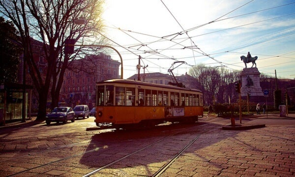 tranvia Milan