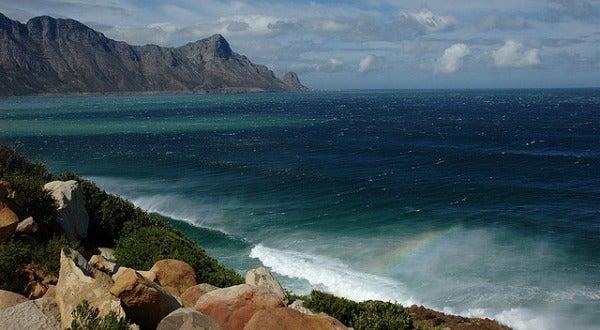 Bahía de False, en Sudáfrica