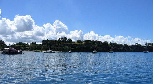 Bahía de Fort-de-France, en Martinica