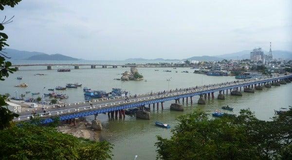 Bahía de Nha Trang, en Vietnam