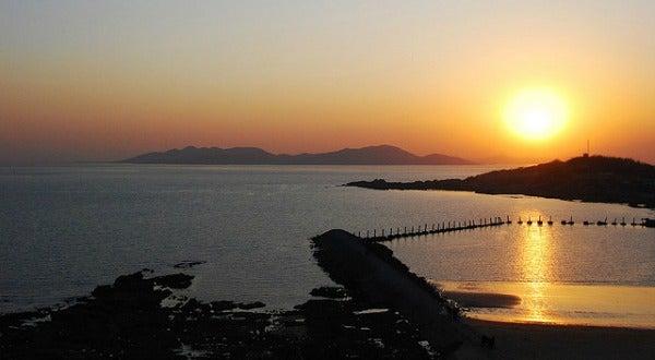 Bahía de Qingdao, Shandong, China