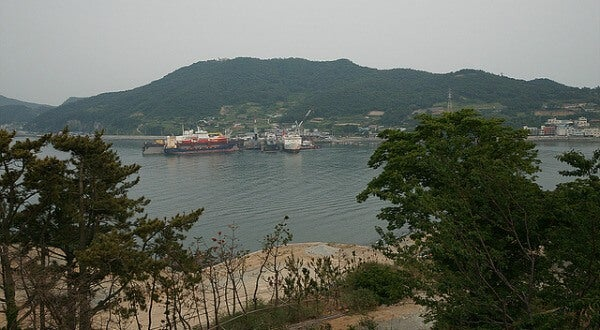 Bahía de Yeosu, Corea del Sur