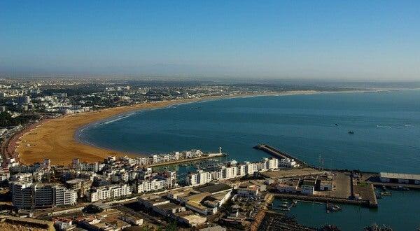 Bahia de Agadir, Marruecos