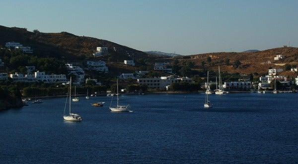 Bahia de Grikos, Patmos, Grecia