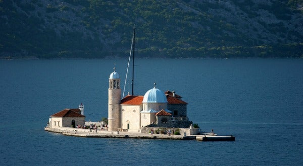 Bahia de Kotor, en Montenegro