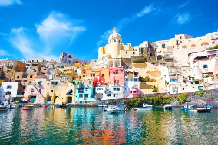 Ciudades coloridas - Procida italia