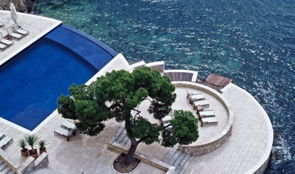 Piscinas Infinitas. Hotel Hospes Maricel, Palma de Mallorca