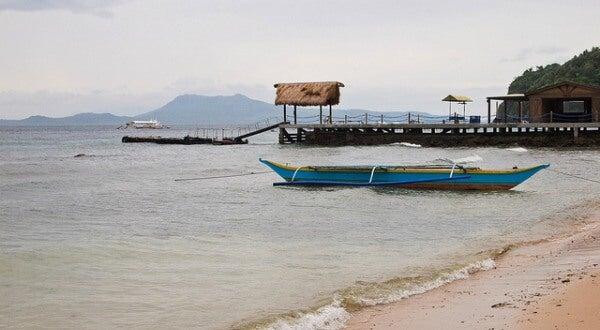 Puerto Galera, en Filipinas