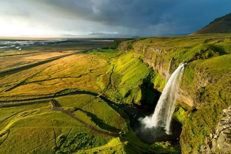 15 carreteras panorámicas para un road trip. carretera panoramica de islandia