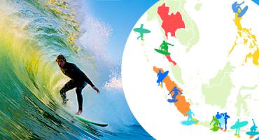 Las 15 mejores playas de Asia para hacer surf