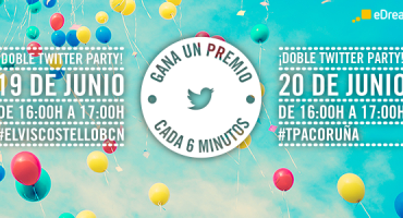 ¡Doble Twitter Party en eDreams! ¡Gana un premio cada 6 minutos!