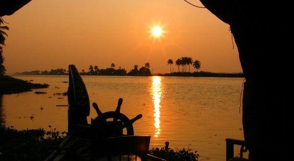 Canales de Kerala, en India