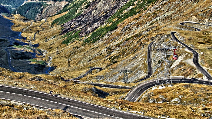 15 carreteras panorámicas para un road trip. carretera de rumania