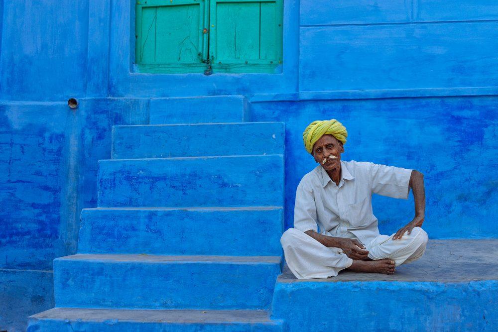 Jodhpur, India. La ciudad azul