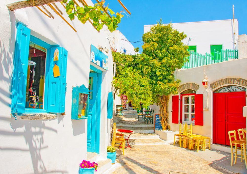 Isla Amorgos, Grecia