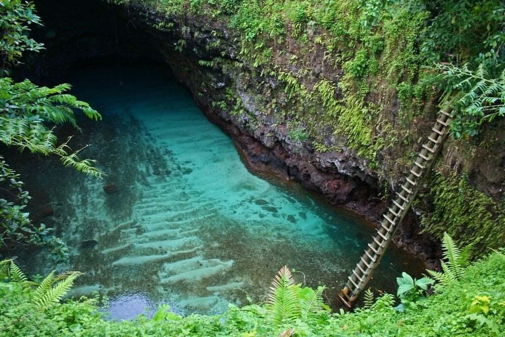 Las 20 piscinas naturales más originales del mundo. piscinas naturales_samoa