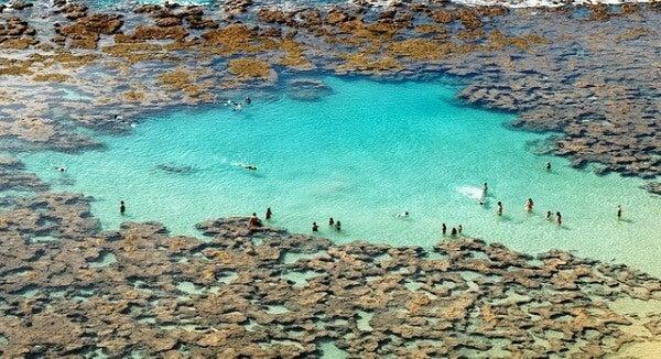 Laguna de Giola, Grecia