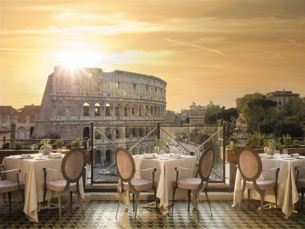Terraza de Palazzo Manfredi en Roma