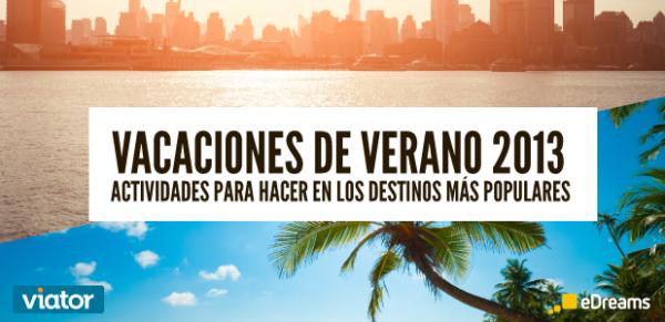 vacaciones de verano 2013