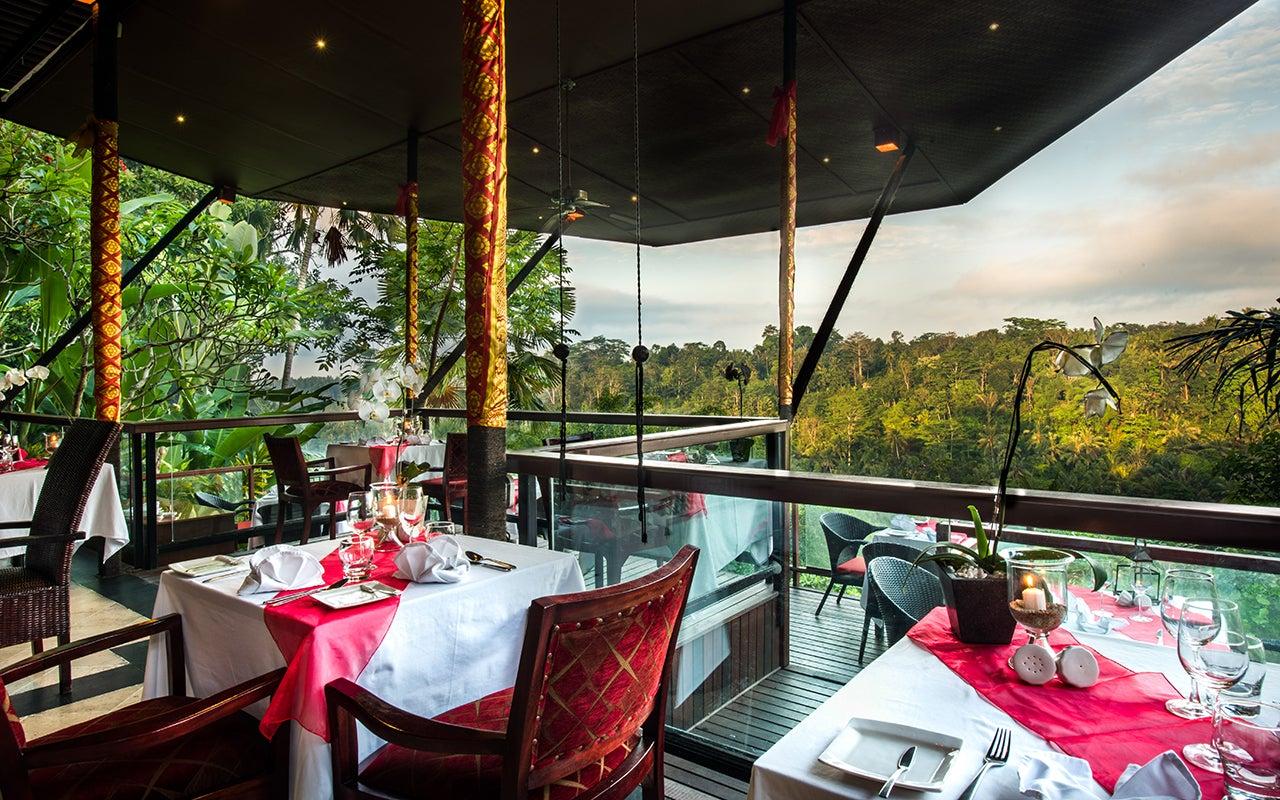 La View Restaurant en Bali