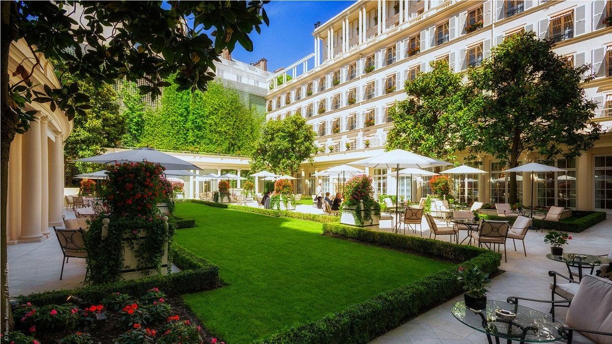 Terraza Hotel Le Bristol - París
