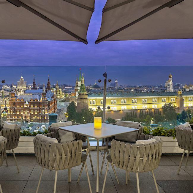 O2 Lounge en Moscú