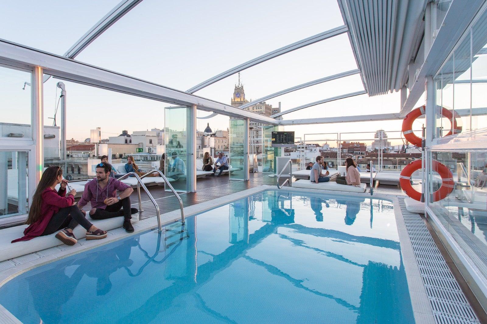 La Terraza de Arriba en Madrid