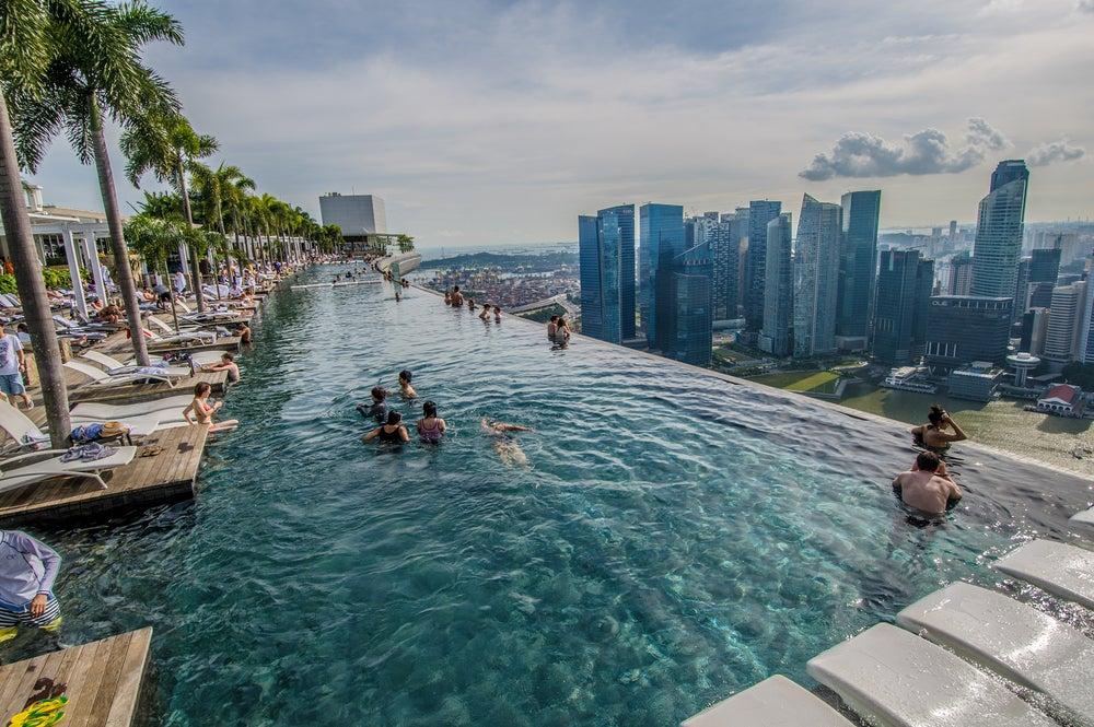 Terraza Marina Bay Sands en Singapur