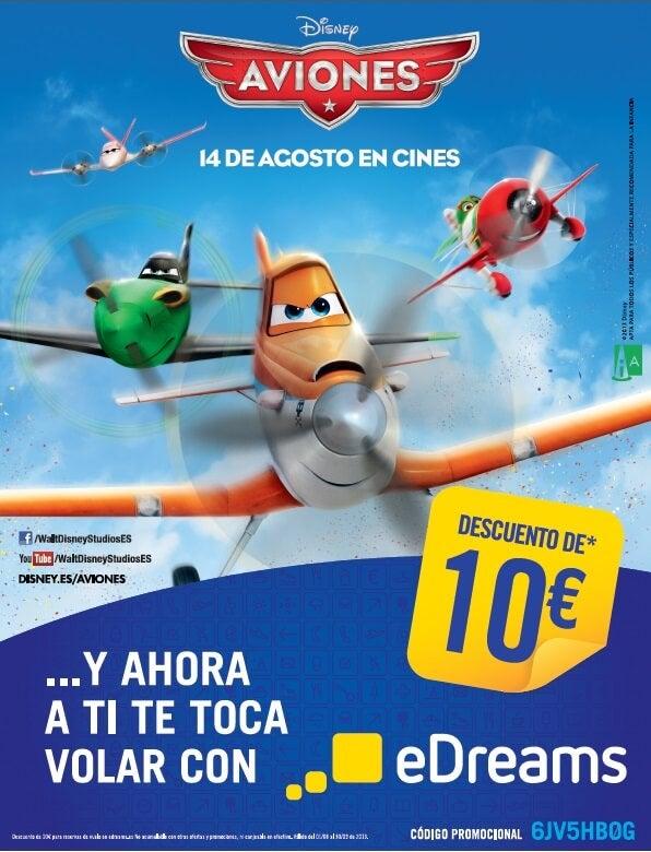 Aviones, Disney