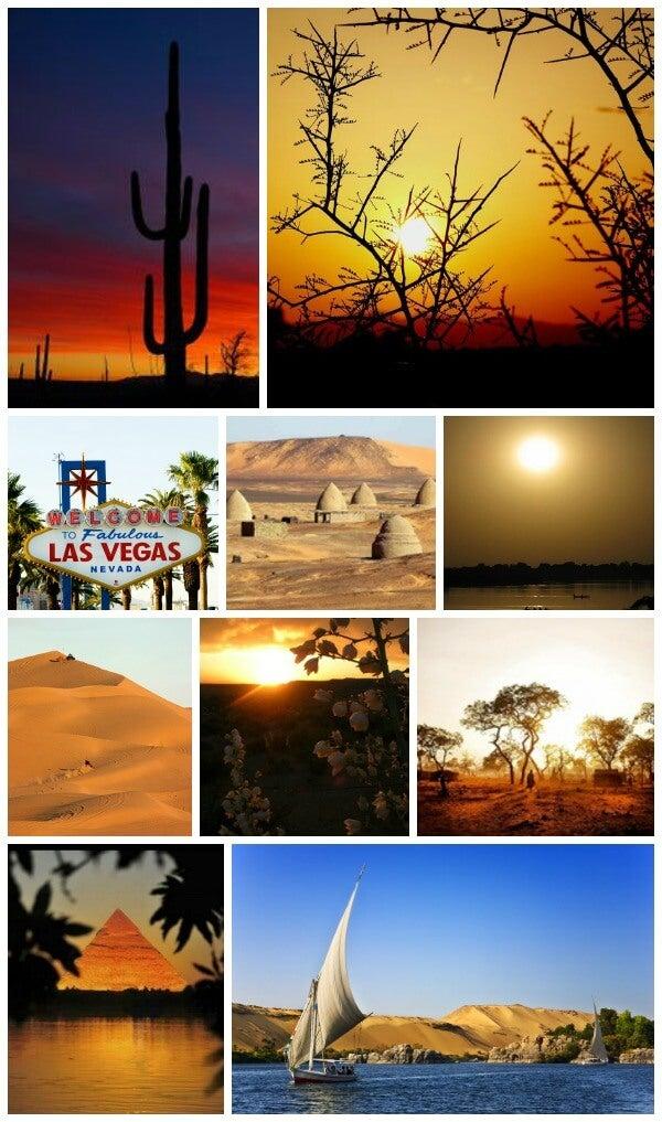 lugares con mas sol del mundo