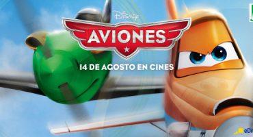 Vuela con «Aviones», la nueva película de Disney, y eDreams