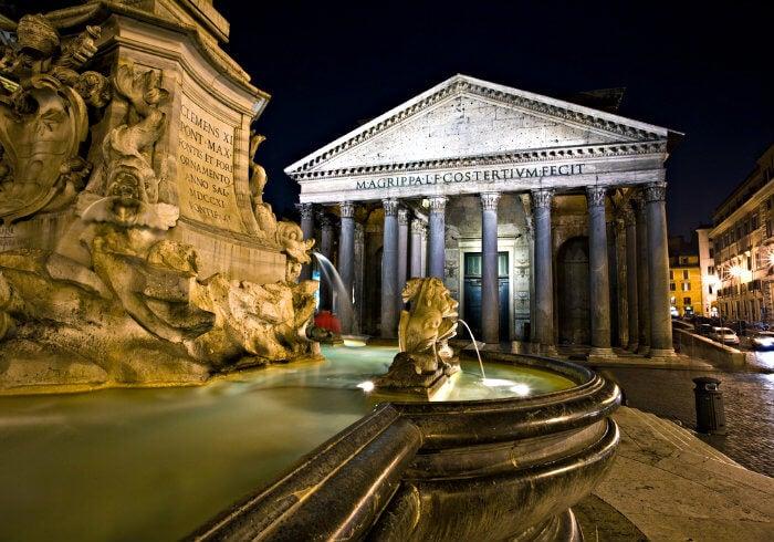 Pateon en roma