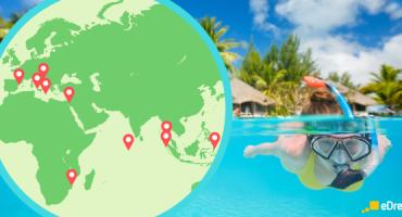Los 20 mejores lugares del mundo para hacer snorkel