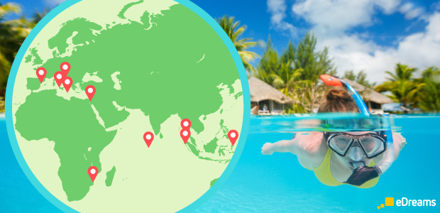 Los mejores lugares del mundo para hacer snorkel