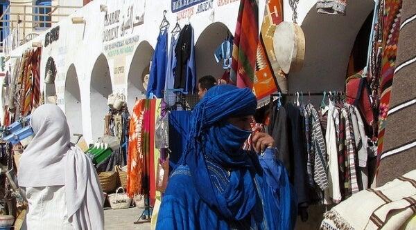 mercado Túnez