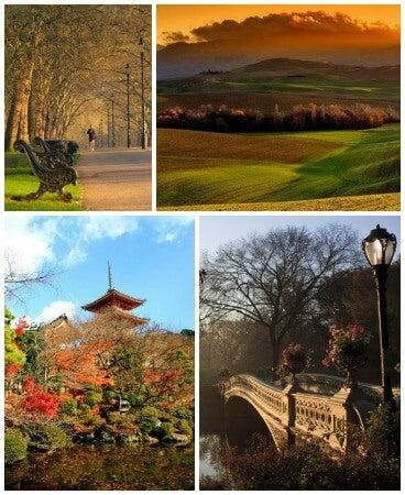 destinos otoño