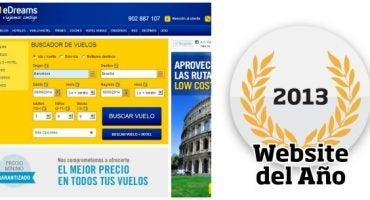 ¡Vota a eDreams como la mejor Website del Año 2013!