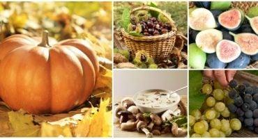 Los alimentos más populares de otoño