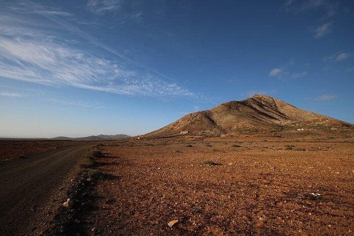 fuerteventura montaña de tindaya