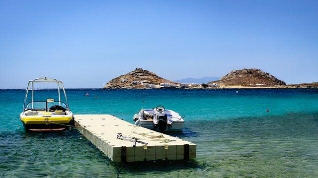 Los destinos menos románticos del mundo: Mikonos Grecia