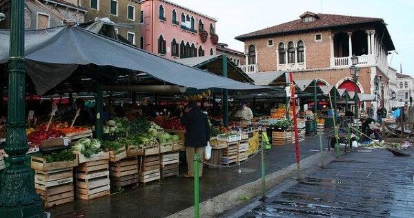 mercado de Rialto, Venecia
