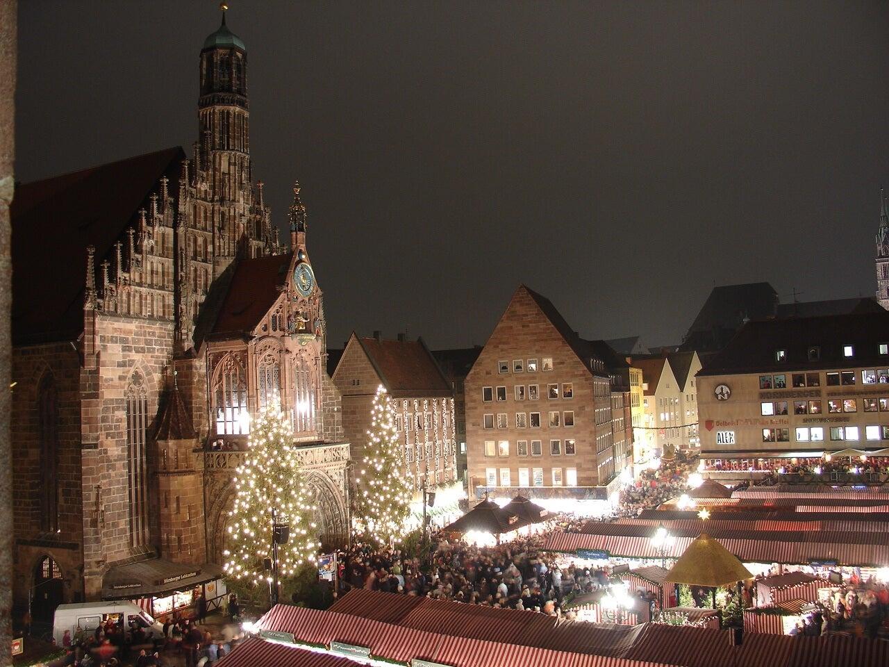 mercado navidad Nuremberg