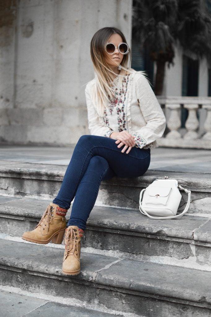 Bolso a conjunto con ropa - moda otoño