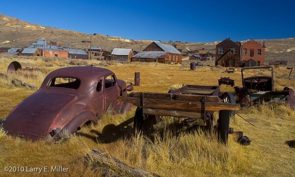 Abandoned Gold Mining Town, Bodie State, California