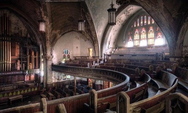 iglesia presbiteriana Woodward de Detroit