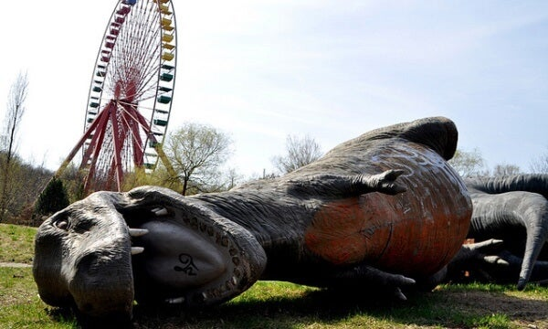 Abandoned Amusement Park, Spreepark, Berlin