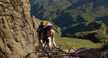 Alpinismo en los montes Drakensberg